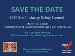 Safety Summit 2020 Save the Date